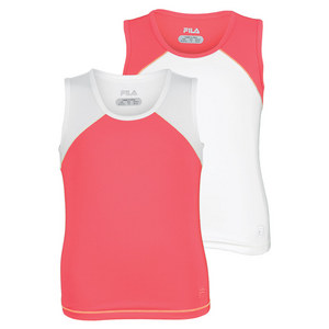 FILA GIRLS BASELINE TENNIS TANK