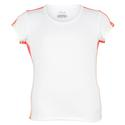 FILA Girls` Baseline Short Sleeve Tennis Top