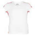 FILA Girls` Baseline Short Sleeve Tennis Top
