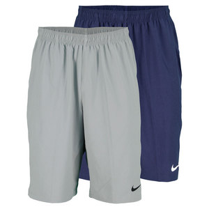 NIKE MENS NET 11 INCH WOVEN TENNIS SHORT
