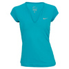NIKE Women`s Pure Tennis Top Turbo Green