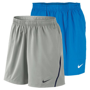 NIKE MENS POWER 7 INCH WOVEN TENNIS SHORT