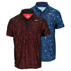 NIKE MENS ADVANTAGE UV GFX TENNIS POLO