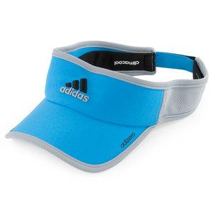 adidas ADIZERO II TENNIS VISOR SOLAR BLUE/MD GY