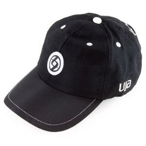 LIJA WOMENS TENNIS BALLCAP BLACK/WHITE