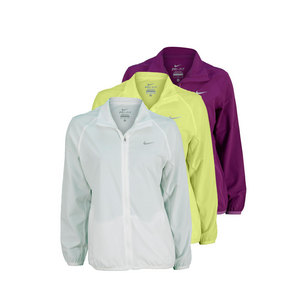 NIKE WOMENS WOVEN FULL-ZIP TENNIS JACKET