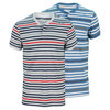 NIKE Men`s Dri Fit Touch Stripe Tennis Henley