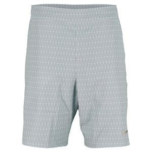 NIKE MENS GLADTR PRMR 9 IN TNS SHORT BASE GY