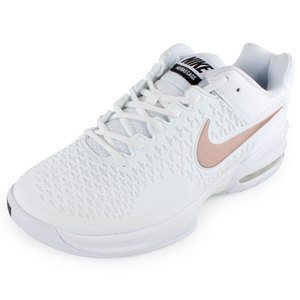NIKE WOMENS AIR MAX CAGE SHOES WH/MET SUM WH