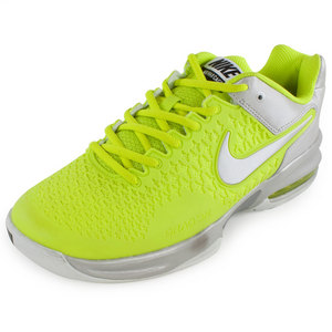 NIKE WOMENS AIR MAX CAGE SHOES VN GN/MET IR O