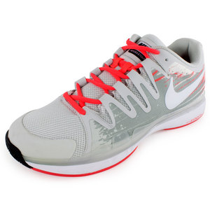 NIKE MENS ZOOM VPR 9.5 TOUR TNS SHOES L GY/GY