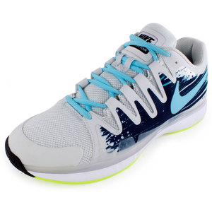 NIKE MENS ZOOM VPR 9.5 TOUR TNS SHOES GY/M NV