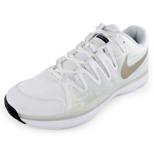 NIKE MENS ZOOM VPR 9.5 TOUR TNS SHOES WH/M ZN