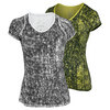 NIKE Women`s Advantage Printed Tennis Top
