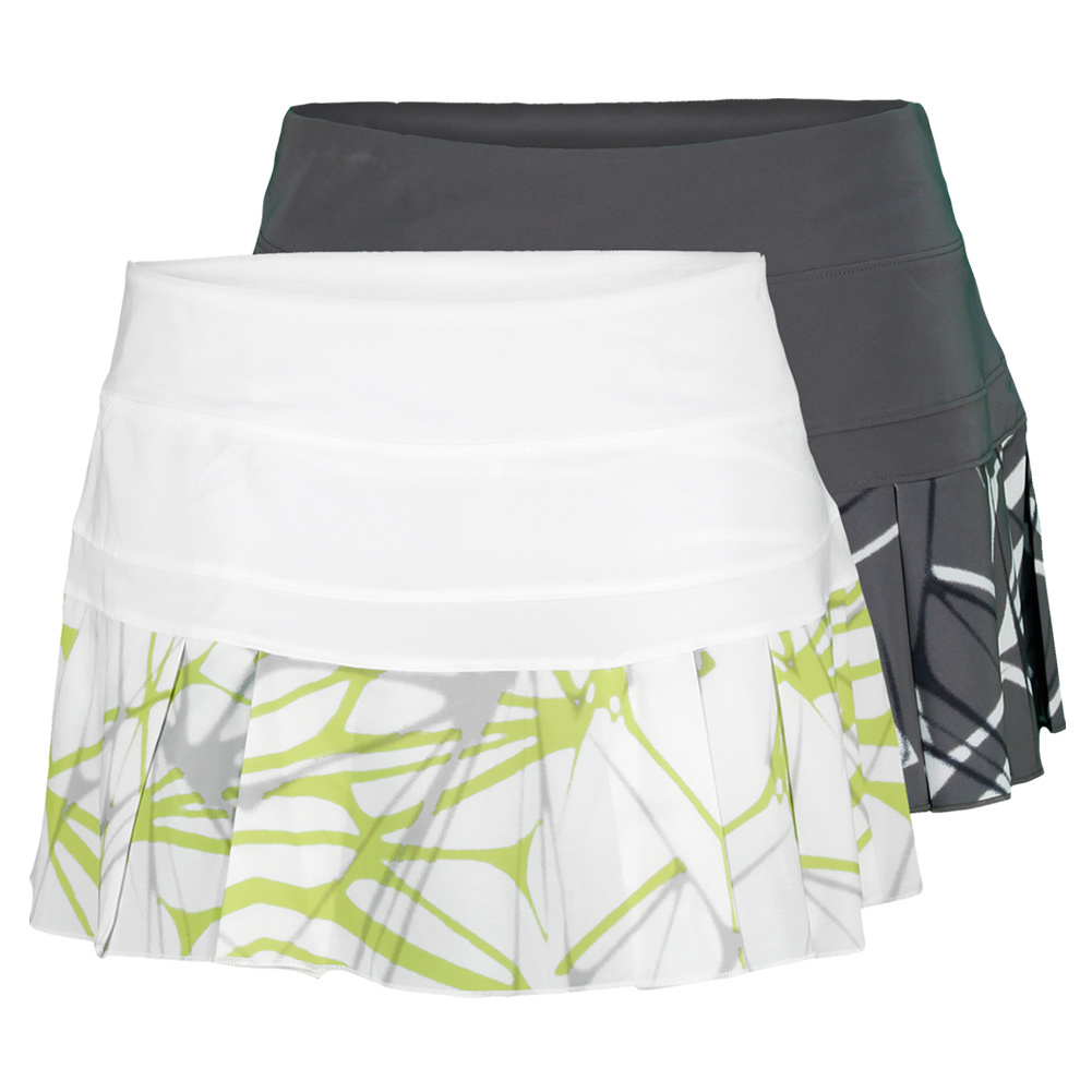Women's Printed Pleated Woven Tennis Skirt