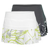 NIKE Women`s Printed Pleated Woven Tennis Skirt