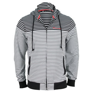 TRAVISMATHEW MENS CASINO TENNIS JACKET BLACK/DAWN