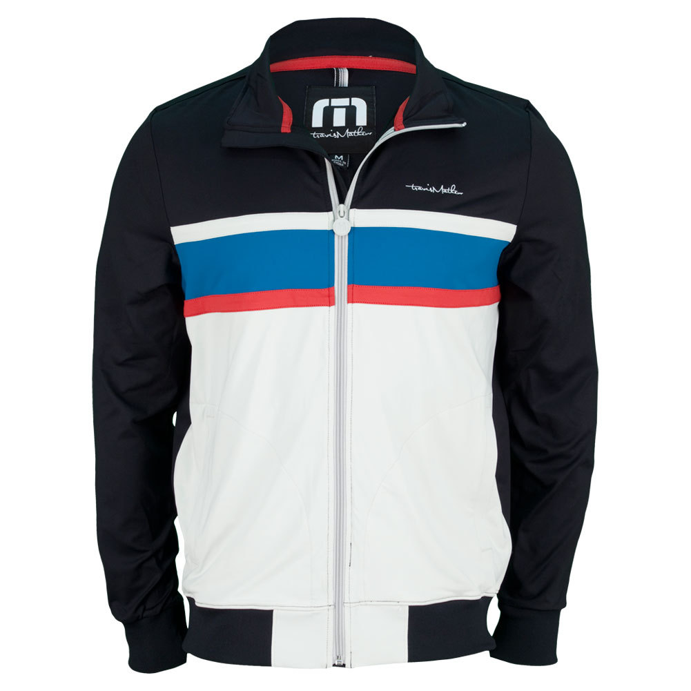 Men's Parker Tennis Jacket Black
