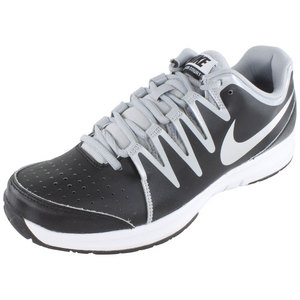 Men`s Vapor Court Tennis Shoes Black and White