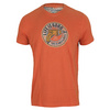 LIFE IS GOOD Men`s Drill Tee Deep Orange