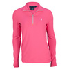 POLO RALPH LAUREN Women`s Extreme Long Sleeve Tennis Top Advantage Pink