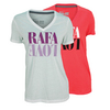 Women`s Rafa Love Tennis Tee by NIKE