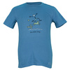 LIFE IS GOOD Boys` Double Dip Tee Extra Blue