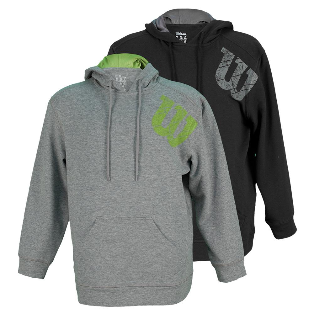 Boys ` W Logo Pull Over Tennis Hoody