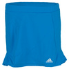 ADIDAS Girls` Tennis Sequencials Skort Solar Blue