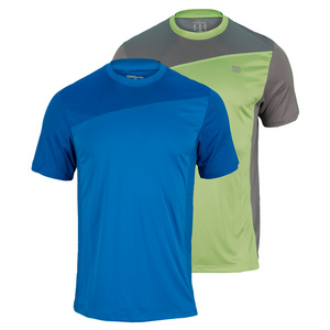 WILSON MENS RUSH COLORBLOCK TENNIS CREW
