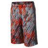 NIKE Boys` Fly Rain Camo Training Short Team Orange