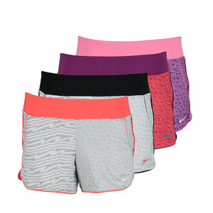 NIKE GIRLS SPORT KNIT 3 IN GFX 1 TRAIN SHORT