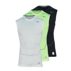 NIKE MENS CORE COMPRESSION SLVLSS TOP 2.0