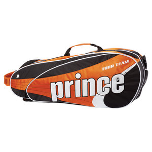 PRINCE TOUR TEAM 6 PACK TENNIS BAG ORANGE
