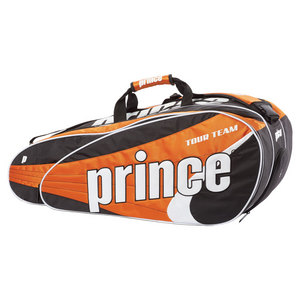 PRINCE TOUR TEAM 12 PACK TENNIS BAG ORANGE