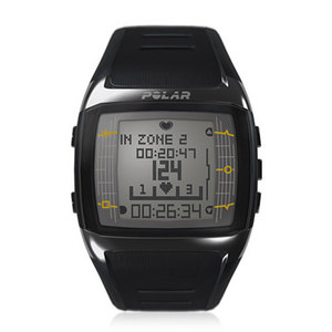 POLAR FT60M WIDE WATCH BLACK