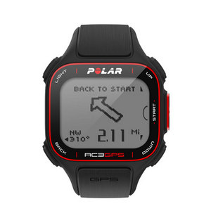 POLAR RC3 GPS WATCH BLACK