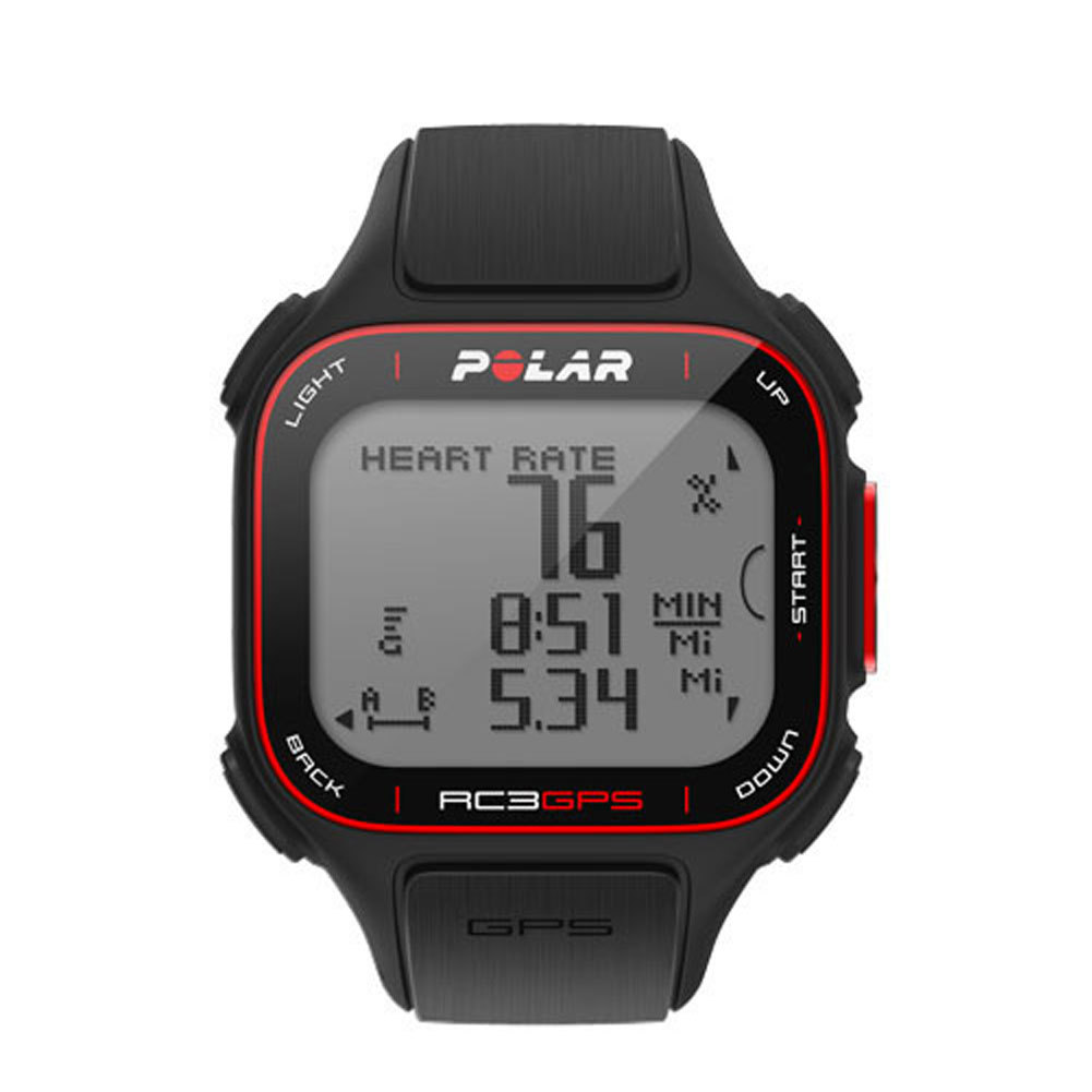 Rc3 Gps With Heart Rate Watch Black