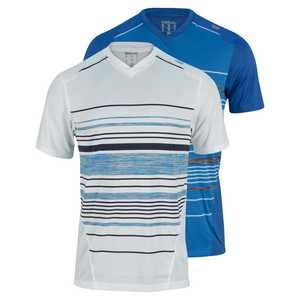 WILSON MENS SPECIALIST CHEST STRIPE TENNIS CREW