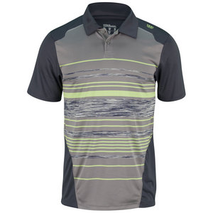 WILSON MENS SPEST CHEST STRIPE TNS POLO GRAPHT