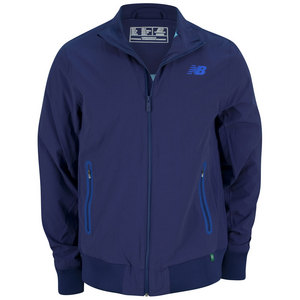 NEW BALANCE MENS GEOSPEED TENNIS JACKET TECHTONIC BL