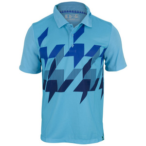 NEW BALANCE MENS GEOSPEED TENNIS POLO TECHTONIC BLUE