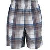 NEW BALANCE Men`s Court Tennis Short Cobalt  Plaid