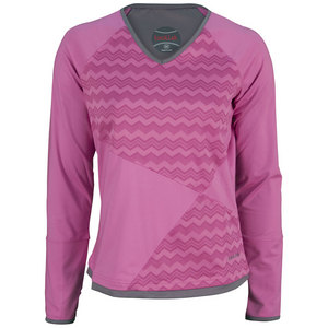 BOLLE WOMENS MAI TAI LONG SLV TOP FUSCHIA