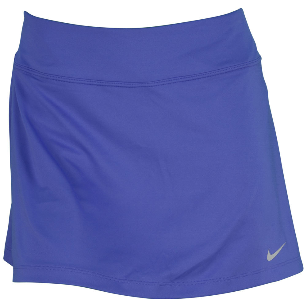 Women's Straight Knit 13 Inch Tennis Skirt Violet Force
