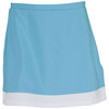 Women`s Slit Band Tennis Skort Turquoise by ELIZA AUDLEY
