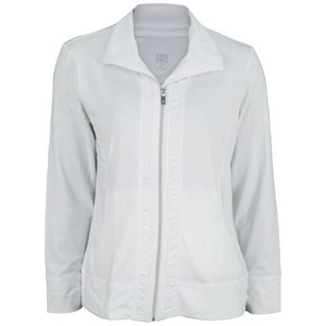 TAIL WOMENS BIANCA TENNIS JACKET WHITE