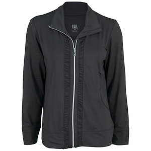 TAIL WOMENS BIANCA TENNIS JACKET BLACK