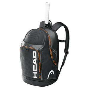 HEAD DJOKOVIC TENNIS BACKPACK BLACK/CHARCOAL