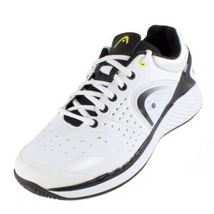 HEAD MENS SPRINT PRO TENNIS SHOES WHITE/BLACK